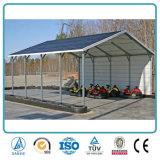 Protecção solar telheiro para Estacionamento de aço Telheiro tons