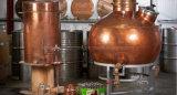 Distillatore di rame rosso inossidabile dell'alcool della fabbrica di birra