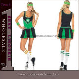 Adulto Cosplay Sexy Futebol Europeu Cheerleader Jersey (TLQZ Traje7065)