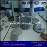 Acoplamiento redondo tejido irregular del filtro del filtro de acoplamiento de alambre