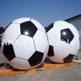 Пвх надувные гелий за круглым столом футбольных баллон для занятий спортом