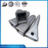 Dentes de aço da cubeta do forjamento do OEM para a máquina escavadora