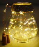 15 светодиодных индикаторов бутылку вина Корк фонари медных String фонари для самостоятельного использования расширительного бачка