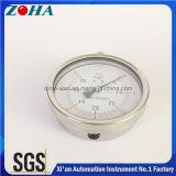 100 мм в диаметре Ss измеритель давления с помощью материалов из нержавеющей стали
