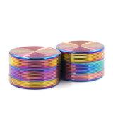 Fabrico 40mm de rosca do parafuso 3 Camadas Rainbow Moedor de ervas