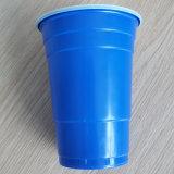 직접 공장 도매 18oz 500ml 처분할 수 있는 PP 플라스틱 미국 빨강 솔로 당 컵