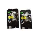 Просвечивающий упаковывая мешок для платья/нижнего белья, полиэтиленовых пакетов для одежд