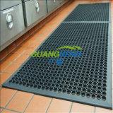排水のゴム製マットまたは抗菌の床マットまたはオイル抵抗のゴム製マットかスリップ防止ゴム製床