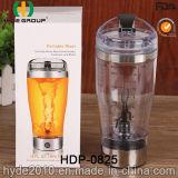 Neuf le plastique populaire BPA libèrent la bouteille de vortex, la bouteille électrique en plastique de dispositif trembleur de la protéine 450ml (HDP-0825)