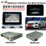 (15-16) Navigateur visuel de surface adjacente de multimédia androïdes de mise à niveau du véhicule GPS pour le benz C/E/a/B/Ml/Glk, 1080P/WiFi/Mirrorlink/Bt
