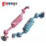 Il nodo della stringa gioca i giocattoli dell'animale domestico dei giocattoli della corda di Dumbbell