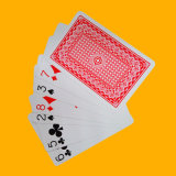 Mejor calidad 100% plástico Naipes Casino Tarjetas de Juego