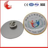 Personnaliser l'insigne en alliage de zinc de police en métal d'insigne en métal d'émail de forme