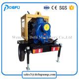 Einzelnes Stadiums-motorangetriebene Schlussteile hingen Dieselselbstgrundieren-Abwasser-Pumpen ein