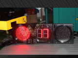 Waterproof 300mm Full Ball Countdown Timer LED Traffic Signal Light