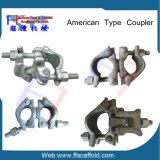 American double collier de serrage du raccord d'échafaudage (FF-0005)
