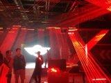 Rotes Träger-Laserlicht