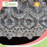 ウェディングドレスのための花嫁のレースファブリックドバイの刺繍のレース