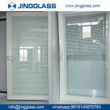 Fabricante inferior de plata doble revestido del vidrio de edificios de la seguridad caliente E de la construcción