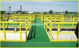 Pultruded GRP/FRP Handrail con Alto-concentrazione