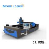 De Scherpe Machine van de Laser van de Vezel van het Blad van de Plaat van het Metaal van Morn voor Verkoop