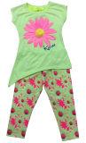Vestito stampato della ragazza dei capretti per estate in bambini che coprono, usura dei capretti, vestiti SGS-103 dei bambini