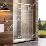 Doccia di lusso della stanza da bagno di vetro di scivolamento della qualità superiore 304SUS di prezzi all'ingrosso di G17p21L