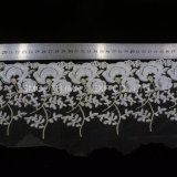 Accesorios de ropa de moda los bordados de hilo tejido de encaje de decoración textil vestido de novia