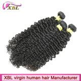Горячие продавая волосы Remy сотка монгольские курчавые волос