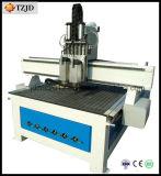 De professionele CNC van de Houtbewerking van 2 Hoofden Pneumatische 3D Machine van de Router
