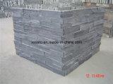 販売のための安く白い水晶/スレートの石造りの側面パネル