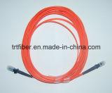 Di cavo di zona ottico duplex multimoda della fibra di MTRJ 50/125