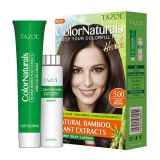 De Kleur van het Haar van Colornaturals van de Zorg van het Haar van Tazol (Donkere Bruin) (50ml+50ml)