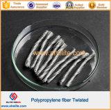 Béton à haute résistance additifs PP Twist fibre