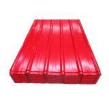 Strato ondulato d'acciaio tuffato caldo del tetto del galvalume
