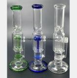Transparentes, blaues, grünes Bienenwabe-Baum-Zweig-Filter-Rauch-Rohr