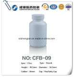 Bottiglia di pillola di plastica vuota della capsula della medicina dell'HDPE di vendita di fornitore