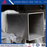 201溶接された正方形のステンレス鋼は管を配管する
