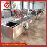 De flexibele Groenten die van de Plak van de Aardappel de Pasteuriserende Machine van de Lijn van te voren bereiden
