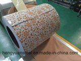 O revestimento PPGI da cópia Prepainted a folha de aço galvanizada da bobina