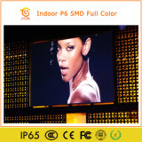 Luz de brilho elevado peso P6 Piscina totalmente colorido Display LED SMD
