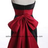 Robe longue Robe de soirée robe de soirée de sirène du ruban rouge