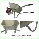 Wheelbarrow galvanizado 6cbf Roda Capacidade Barrow