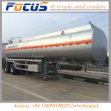 3 Wellen-Aluminiumtanker-LKW-halb Schlussteil für Kraftstoff/Wasser/Wein