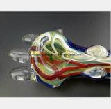 De Rokende Pijp van het Glas van 4.92 Duim van de Waterpijp van de Olieverf van de Filter