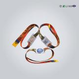 Baixo preço Wristbands de 125 quilohertz RFID com diodo emissor de luz
