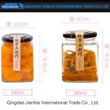 Frascos Hand-Made do armazenamento do alimento do atolamento e dos produtos vidreiros das salmouras