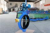 EPDM voll ausgekleidetes einzelnes geflanschtes Drosselventil mit elektrischem Stellzylinder (WDS)