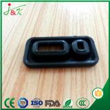 Peça preta do silicone para acessórios de borracha eletrônicos