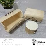 Hongdao Pajarita caja de embalaje de madera con forro de Wholesale_D